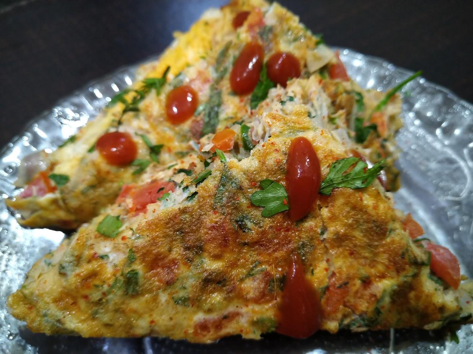 Bread Omelette Sandwich In Marathi - CHIVDA