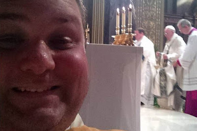 selfie in Mass