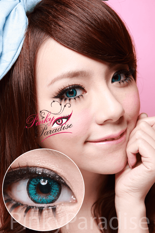 Venus Eye Aqua Circle Lens (Colored Contacts)