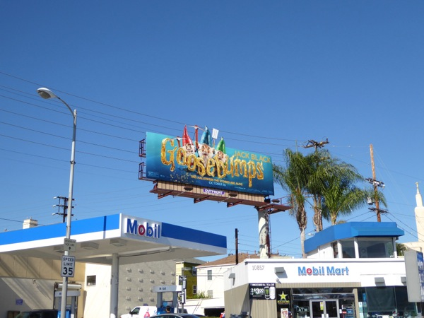 Goosebumps Gnomes billboard