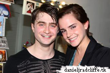 "Emma Watson visits Daniel at ""How to Succeed"""