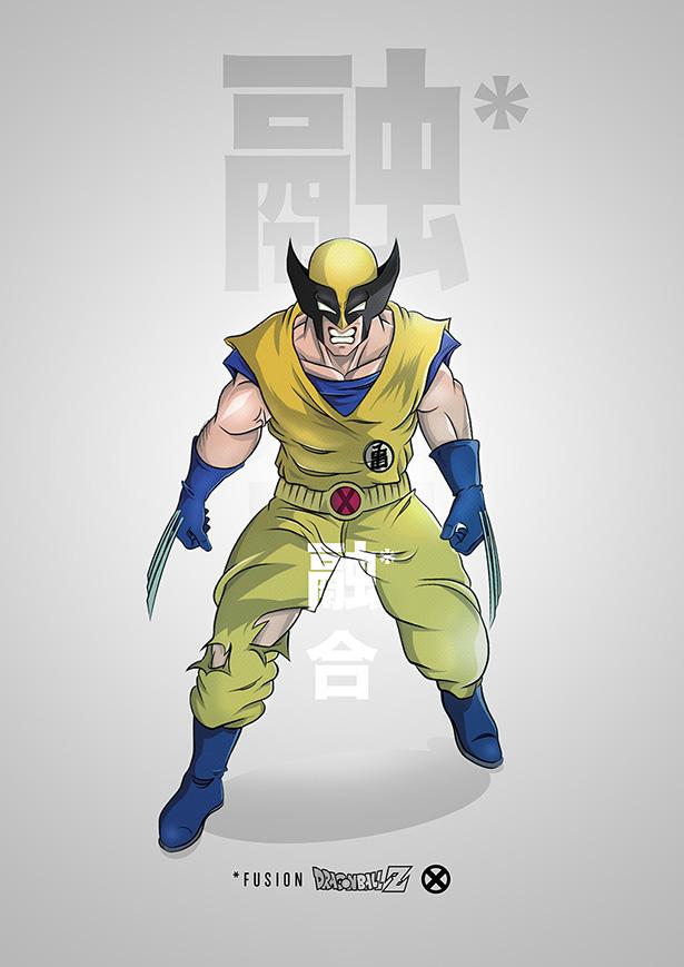 Fusión Son Goku / Wolverine