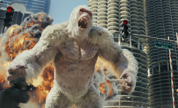 Don't mess with George in RAMPAGE (2018)