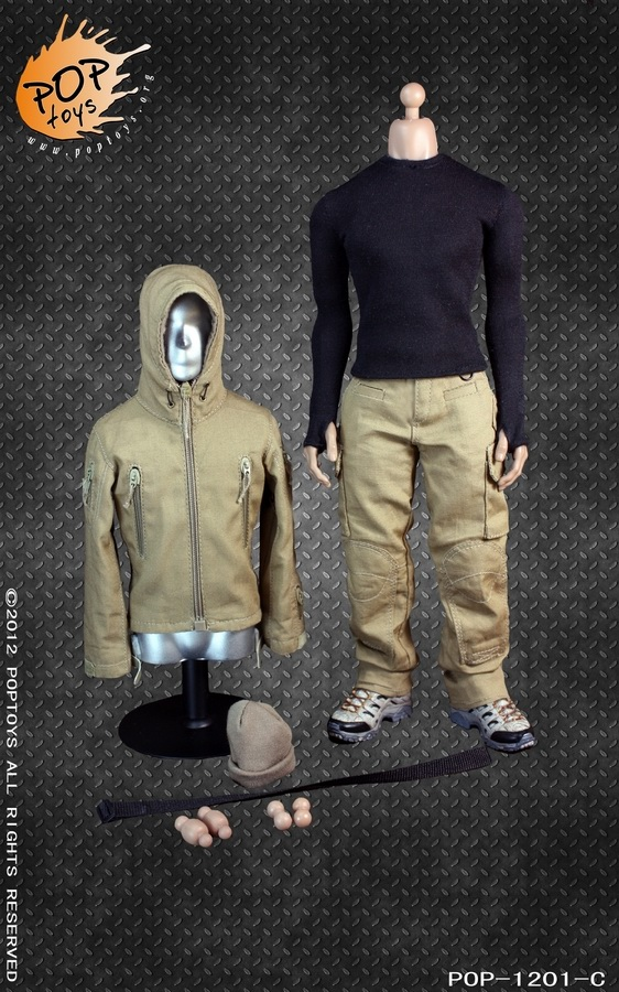 Toyhaven Pop Toys 1 6th Scale Tad Fighting Clothing
