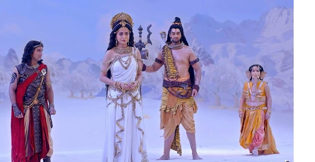 Sree Bhadrakali serial  -Lord Shiva and Parvathi