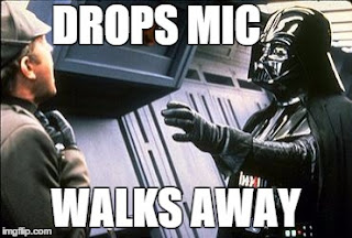 Star Wars Darth Vader drops the mic on binge eating disorder.