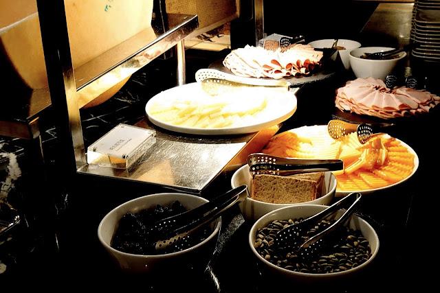 喜來登12廚晚餐菜色