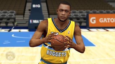 NBA 2K14 Anthony Randolph Cyberface Patch