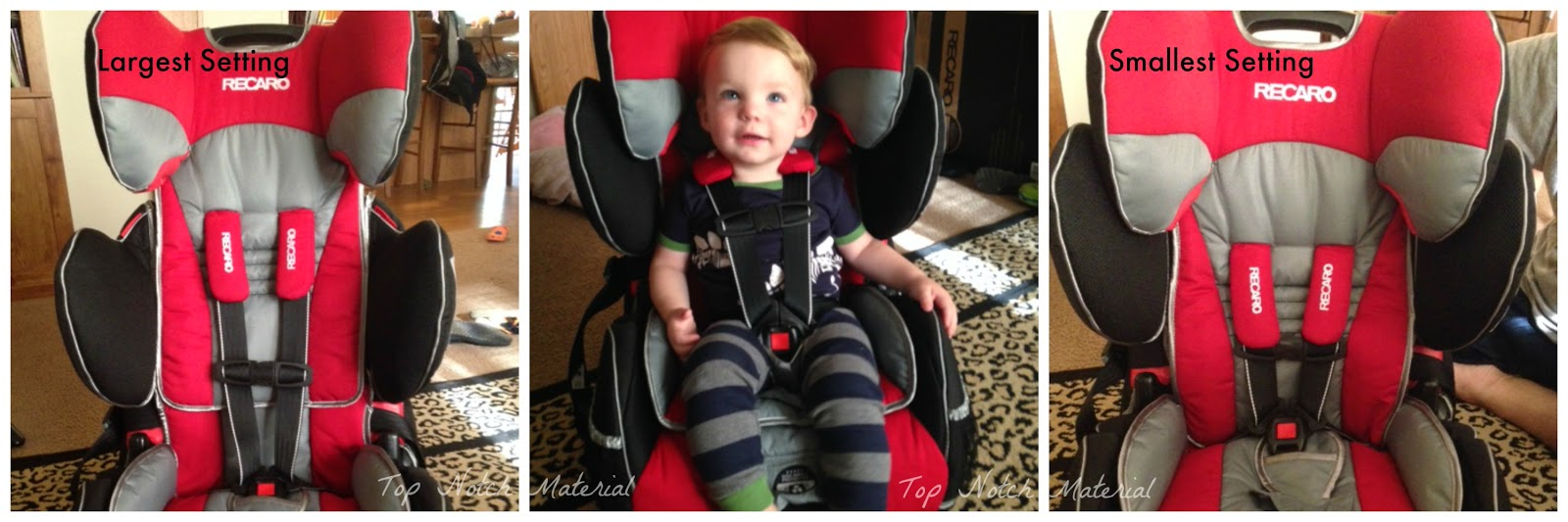 Top Notch Material: Recaro Perfomance Sport Harness Booster Review