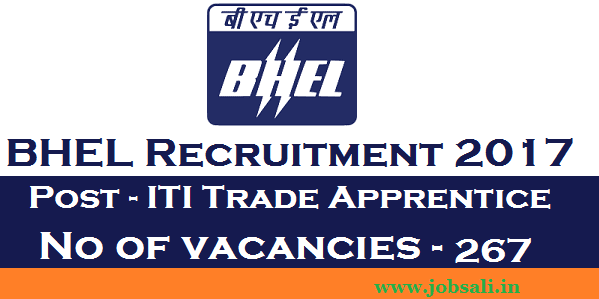 BHEL Careers, ITI Apprentice Notification, ITI Trade apprentice New Vacancy