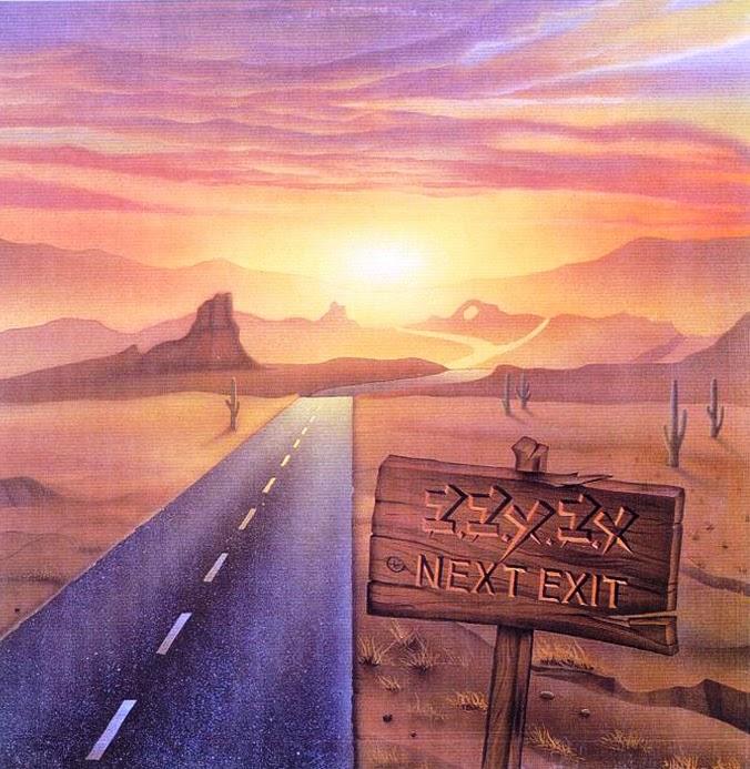 ZZYZX Next exit 1986 aor melodic rock