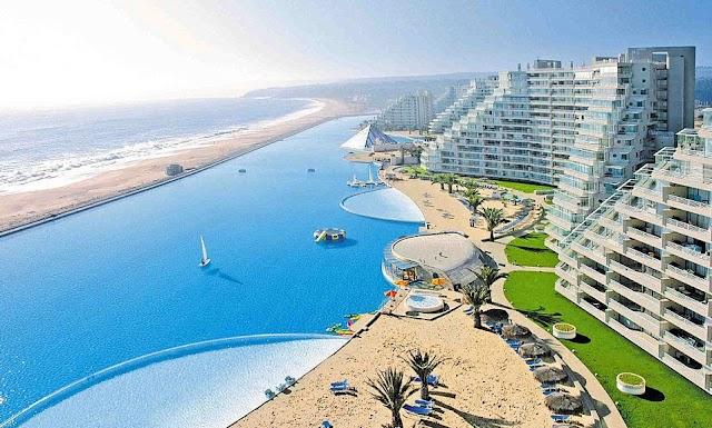 【南美旅行】智利聖阿方索渡假村 暢游全球最大泳池