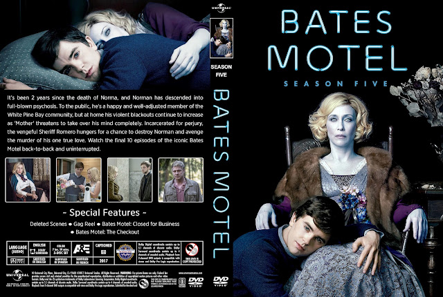 Bates Motel Season 5 DVD Cover