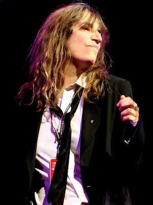 Patti Smith en el TIM Festival de Río de Janeiro