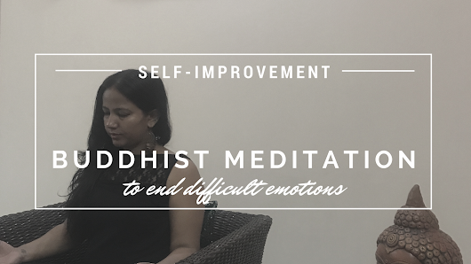 Buddhist Meditation To Accept The Difficult Emotions and Let Them Go!
