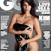 Kim K gets naked on the cover of GQ Magazine
