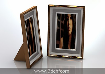 free 3d model picture frame