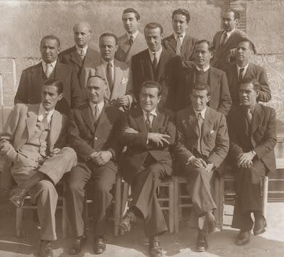 Jugadores del club A. C. R. Carmelo en 1944