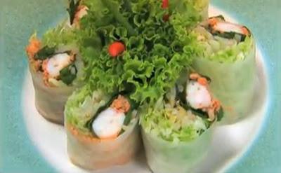 อาหารเวียดนาม, ปอเปี๊ยะสดไส้กุ้ง