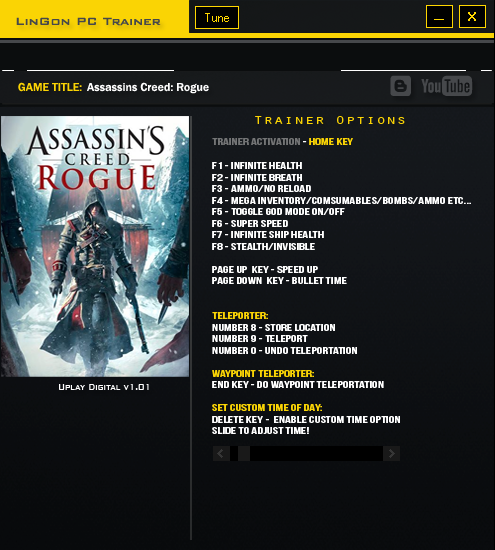 Available in the gaming industry: Assassins Creed Rogue ...