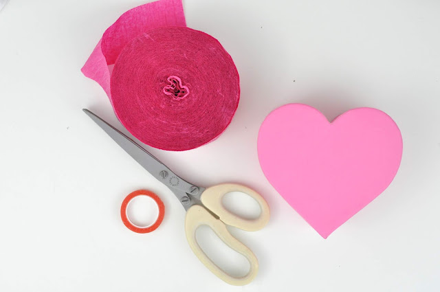 Mini Valentine Heart Pinata Tutorial