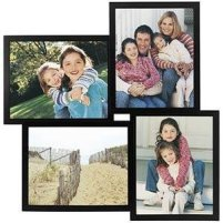 4 Opening Wood Collage Frame For 8x10 Prints 5x7 Collage Frames