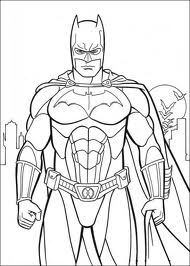 the dark night coloring pages - photo#7