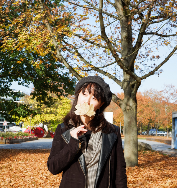 fall poses photography