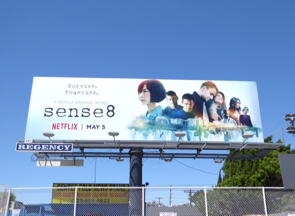 Sense8 season 2 Netflix billboard