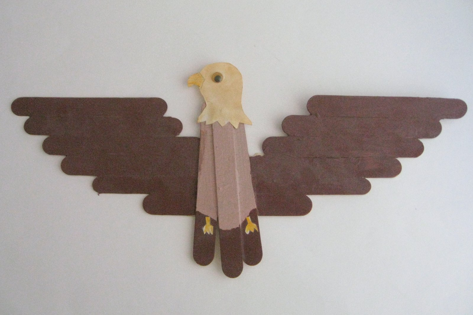 Cindy deRosier: My Creative Life: Popsicle Stick Bald Eagle (and a ...