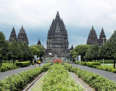 Template Indonesia tourist spots