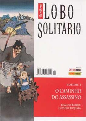 mangá Lobo Solitário Vol.1 Capa