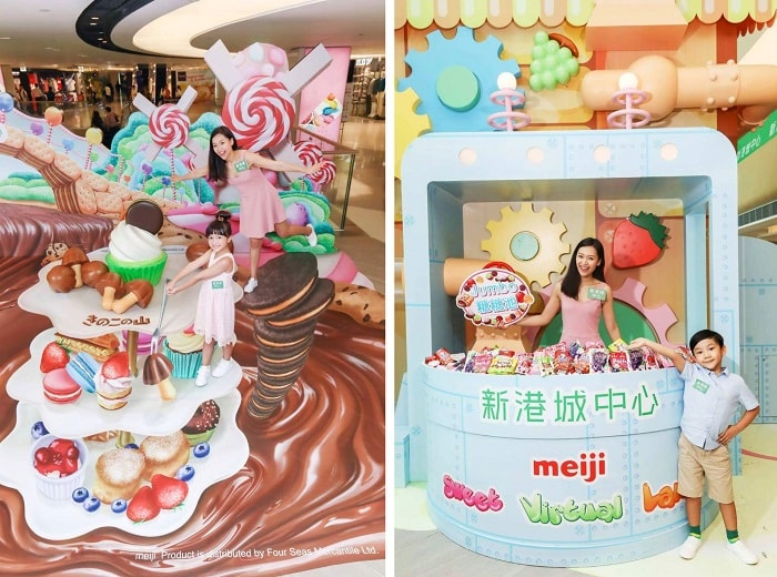 Meiji Sweet Virtual Land at Sunshine City Plaza