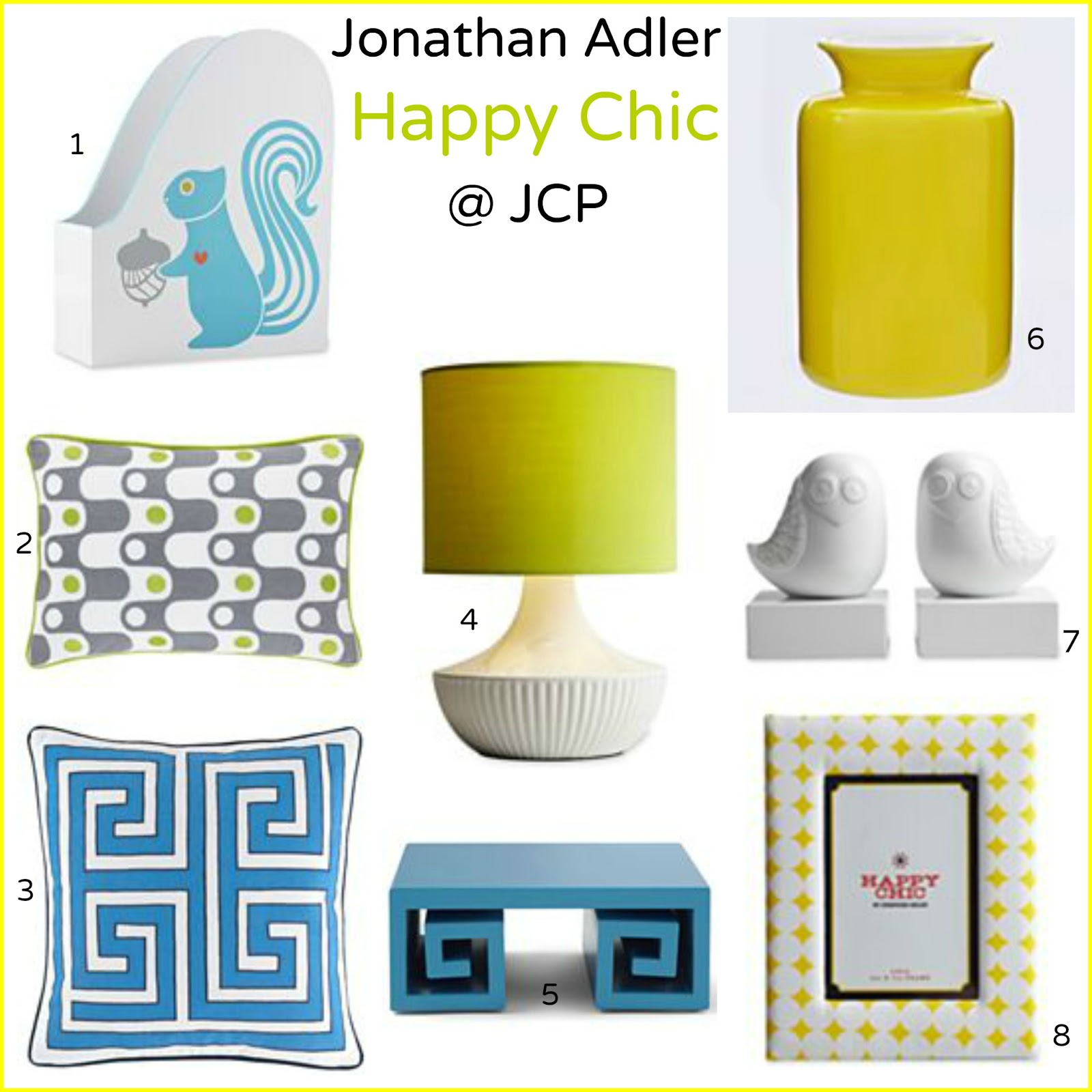 Tracys Notebook Of Style Happy Chic By Jonathan Adler At Jcp