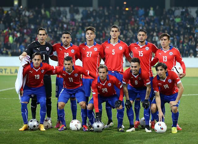 Formación de Chile ante Irán, amistoso disputado el 26 de marzo de 2015