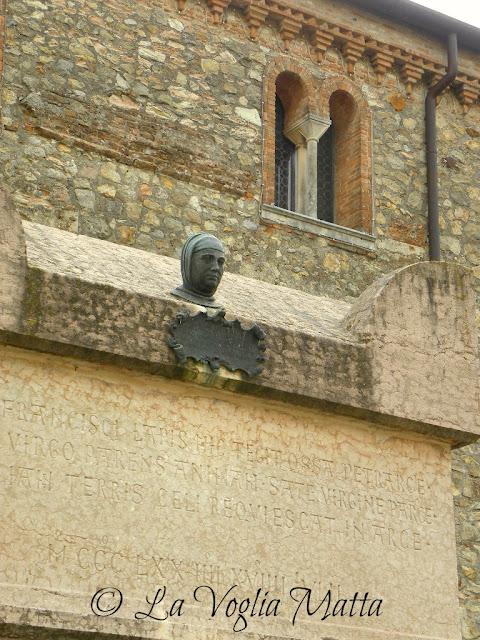 Arquà Petrarca  tomba di Francesco Petrarca