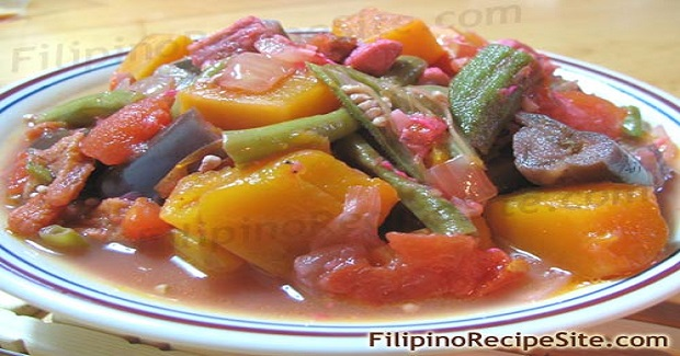 Pinakbet Or Pakbet (Meat Vegetable Stew With Shrimp Paste) Recipe