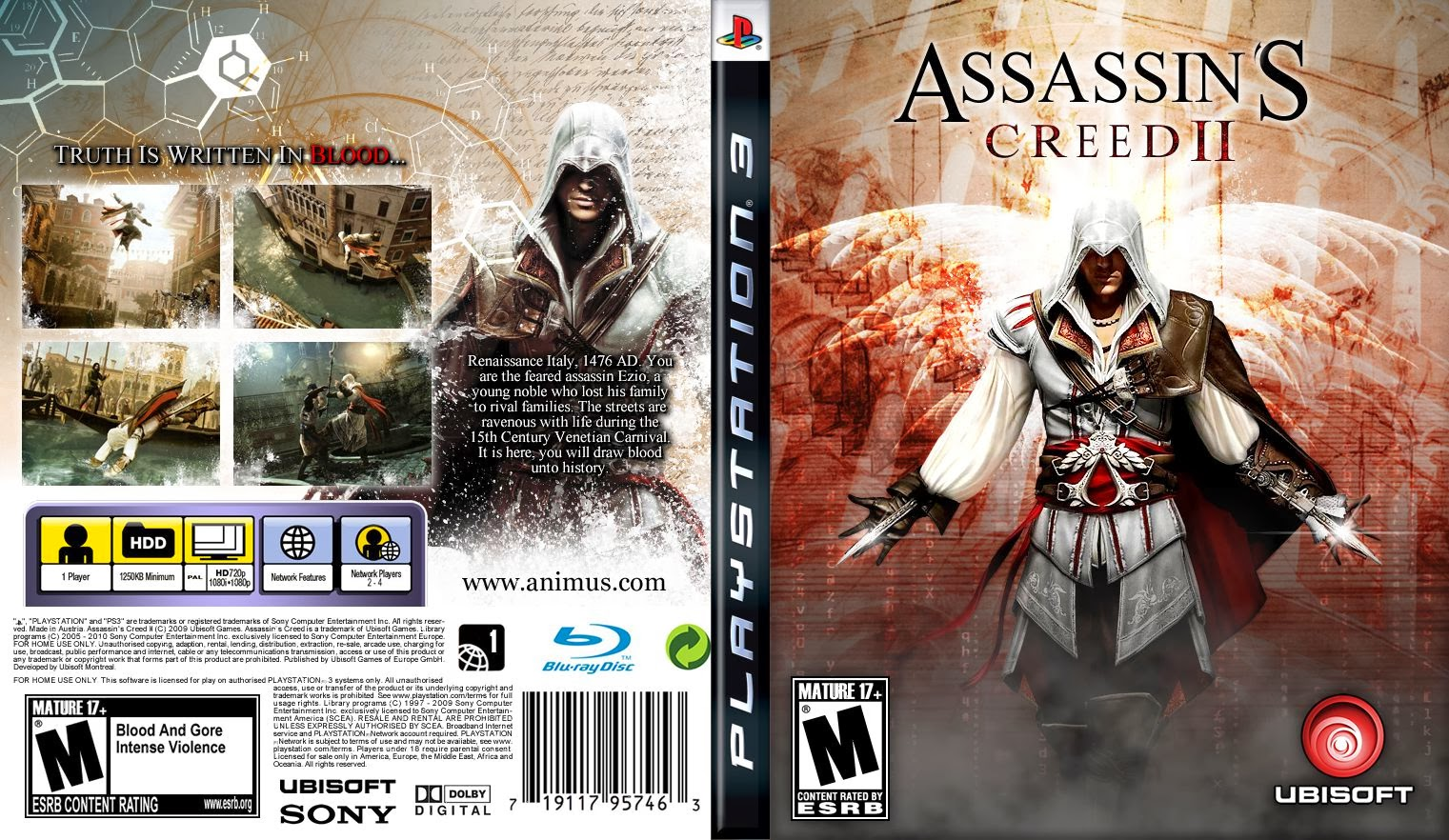 Assassin creed 2 mature rating