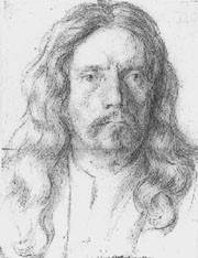 This portrait by Carlo Maratta  is thought to be of Algardi