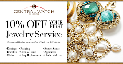 central watch jewelry repair coupon