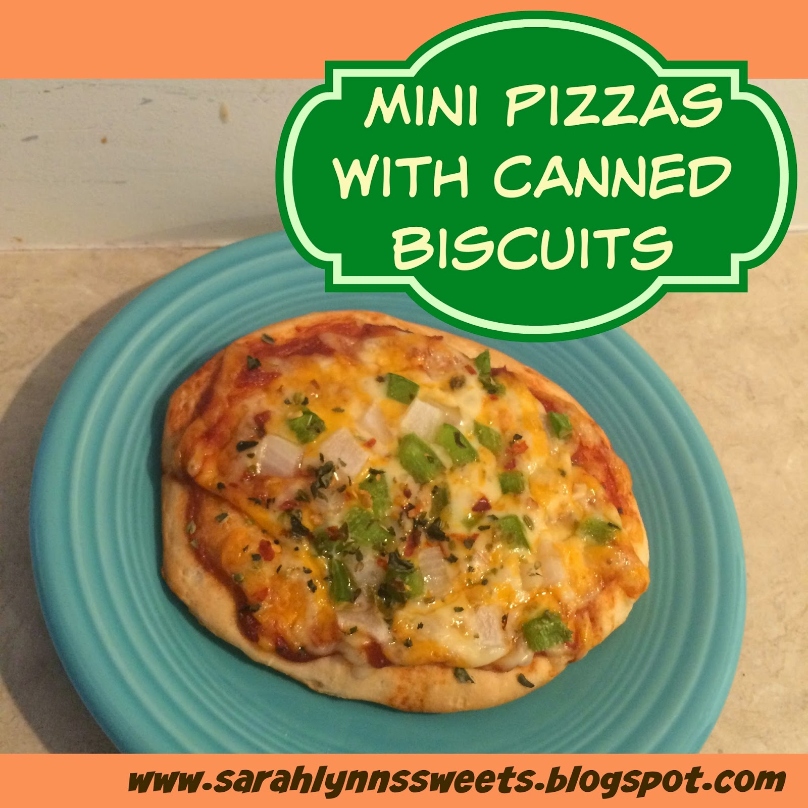 Pre-heat oven according to biscuit package instructions. Place biscuits on a large into a mini pizza, leaving a small lip around the conbihaulase.cf a teaspoon, place topping before adding cheese.