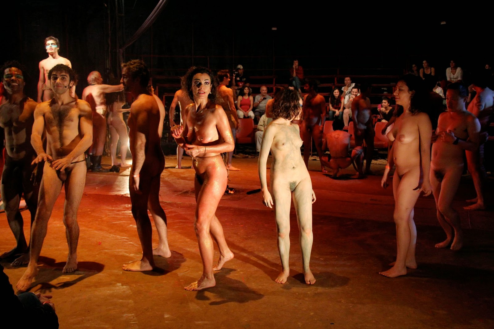 naked women on theatre