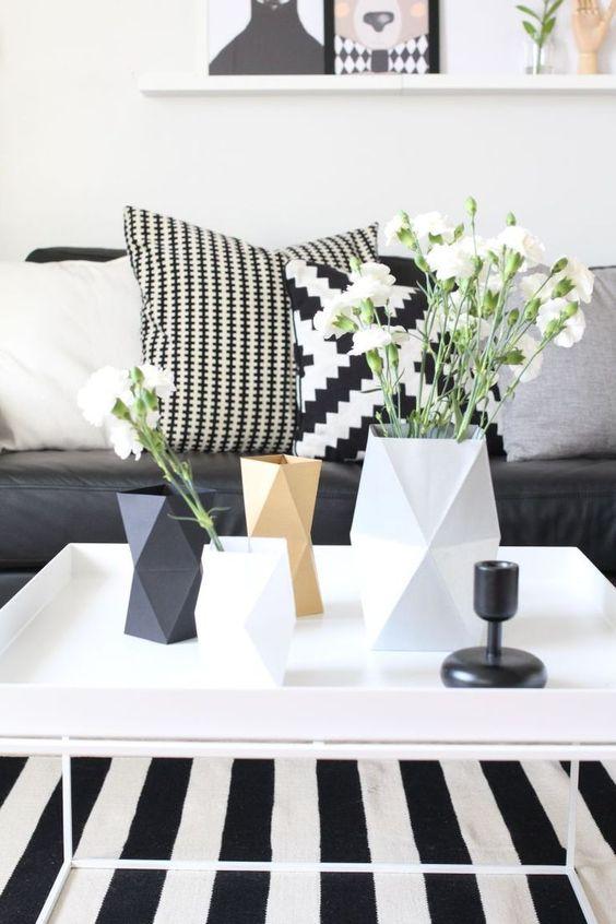 Accesorios con formas geométricas en la decoración de tu vivienda