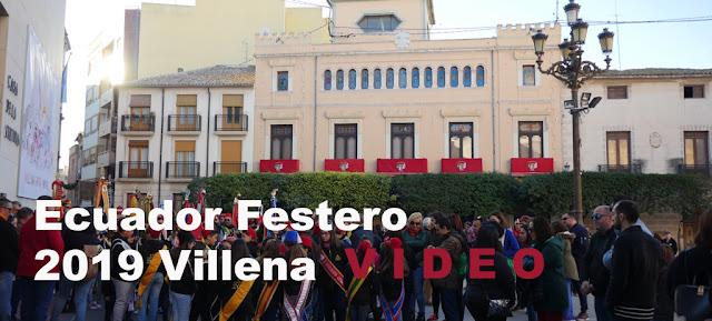 video ecuador Festero 2019