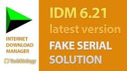 How to solve IDM Fake Serial Number Problem
