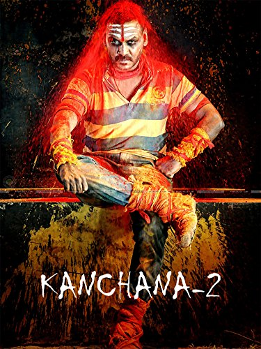 Poster of Kanchana 2 (Muni 3) 2016-Hindi-Dubbed-720p-HDRip Full Movie Download