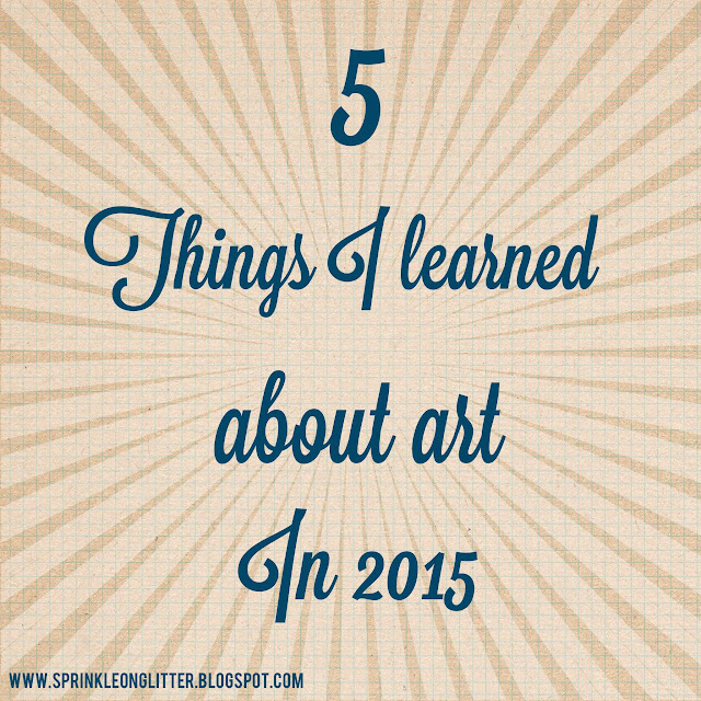 5 things I learned in 2015- graphic