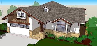 desain rumah, desain taman