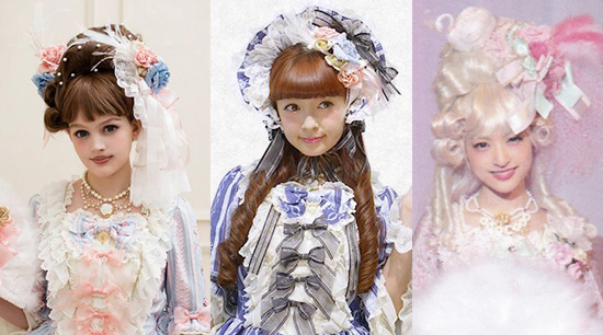 Marie Antoinette Lolita Hair and Makeup