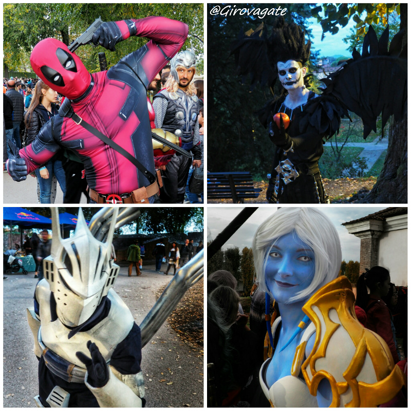 cosplayer lucca comics and games